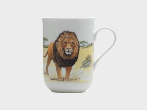 Animals of the World Mug - Lion  #Lion #Maxwell & Williams #Mug #Fine Bone China #New