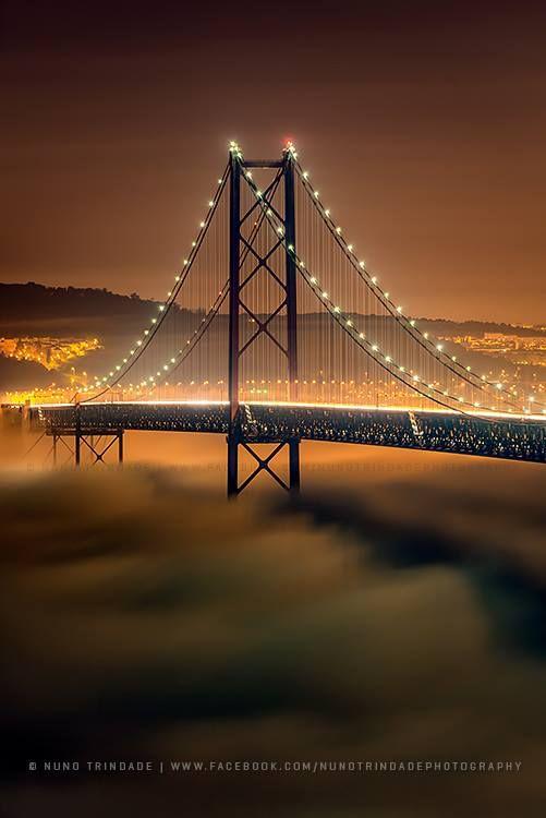 Lisbon's Golden Gate look-a-like bridge. Make Portugal a must see destination.