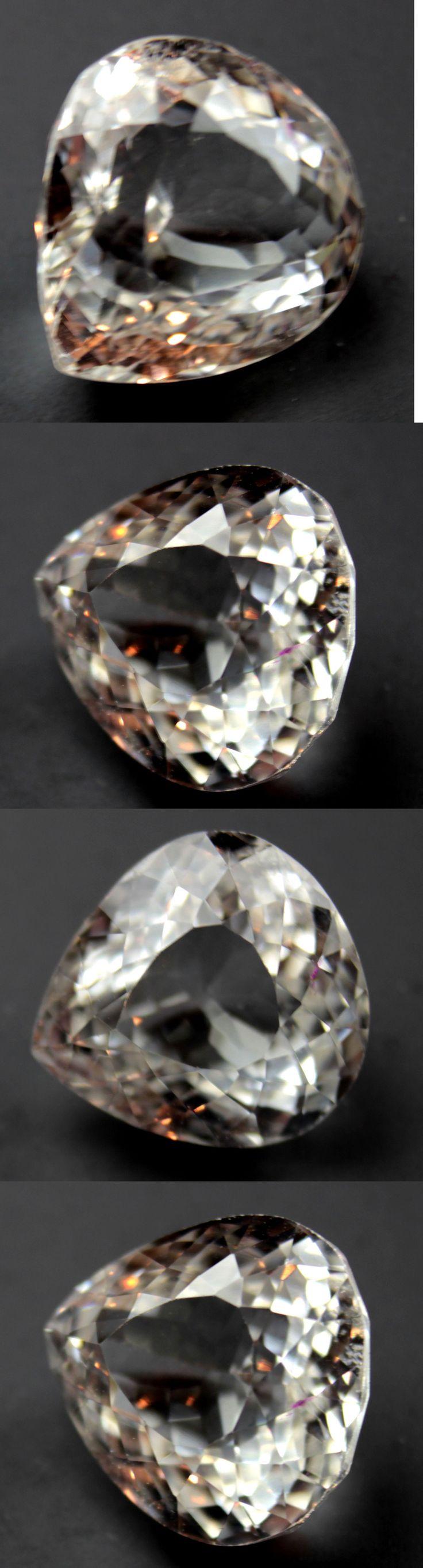 Kunzite 110798: 17.07 Ct Spordumene Natural! Yellow Afghanistan Pear -> BUY IT NOW ONLY: $63.5 on eBay!