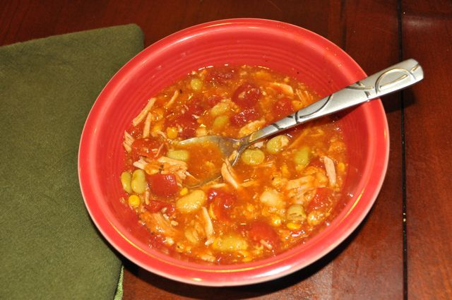 Easy Crock Pot Chicken Brunswick Stew {recipe}