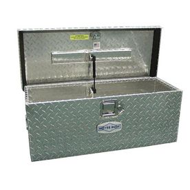 Better Built 20-in x 12-in x 9-1/2-in Silver Aluminum Universal Truck Tool Box