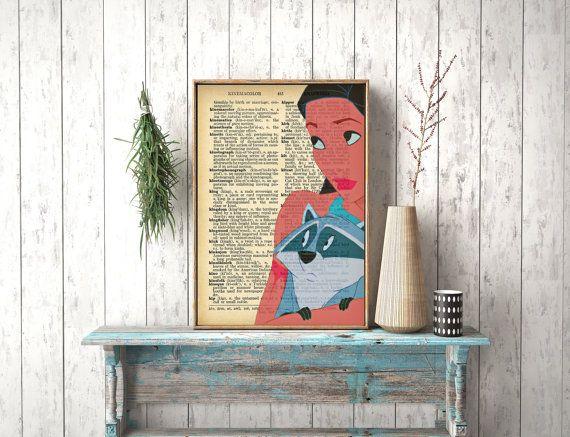 Instant Download Pocahontas Nursery Art Disney by photoplasticon