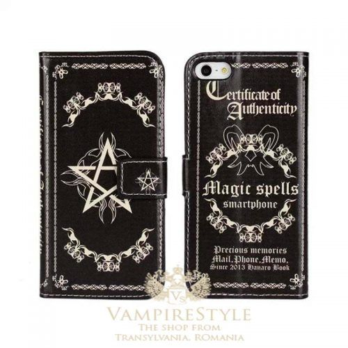 Vampire Spells Book Design iPhone protection case ( with card ...