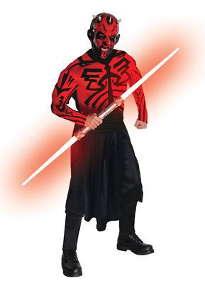 Men 52762: Star Wars Deluxe Adult Darth Maul Muscle Chest Costume Rubies 880675 -> BUY IT NOW ONLY: $38.45 on eBay!