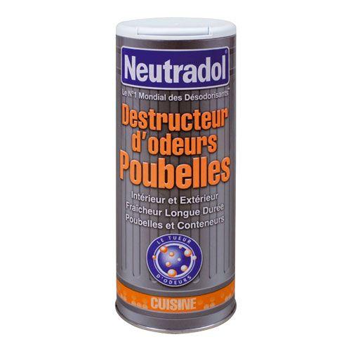 Destructeur d'odeur pour poubelle - 350 g - NEUTRADOL