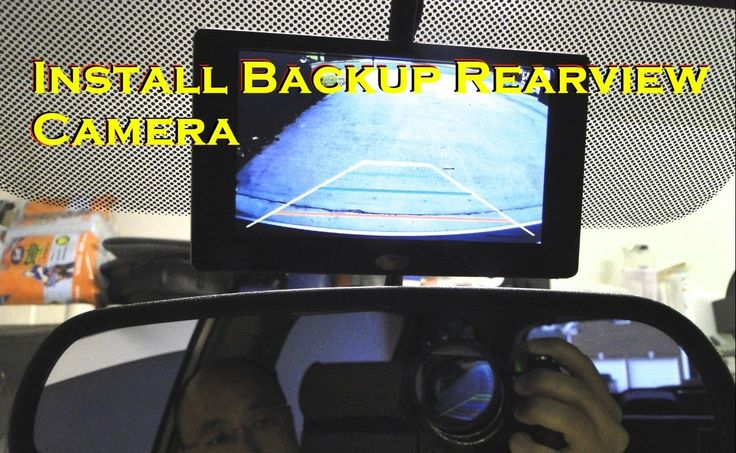 How To Install Rear View Reverse Backup Camera on Car