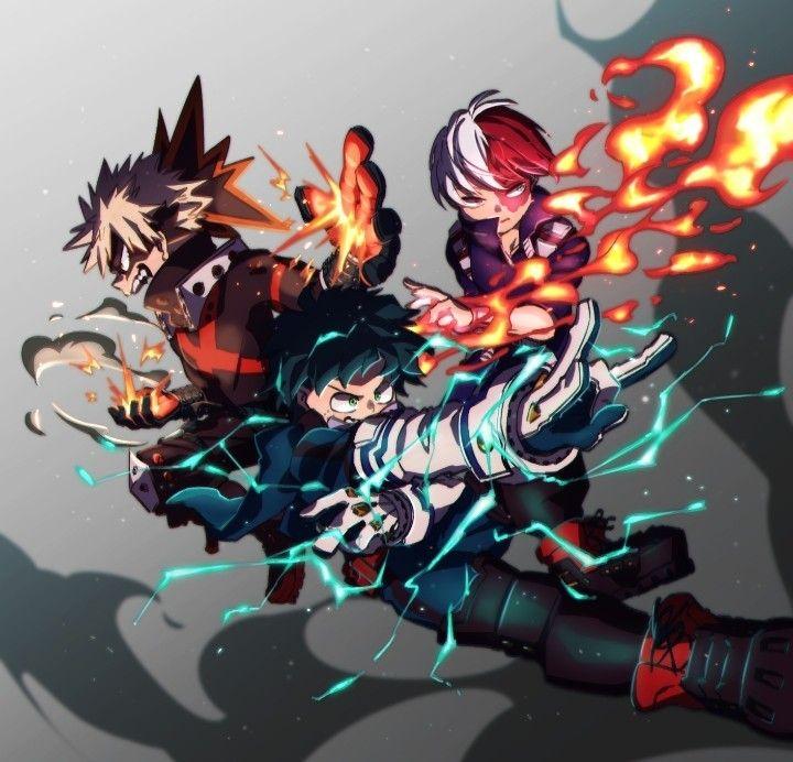 Save Follow Midoriya Izuku Deku Bakugou Katsuki Shouto Todoroki Shoto My Hero Wallpaper My Hero Academia Episodes Anime Backgrounds Wallpapers