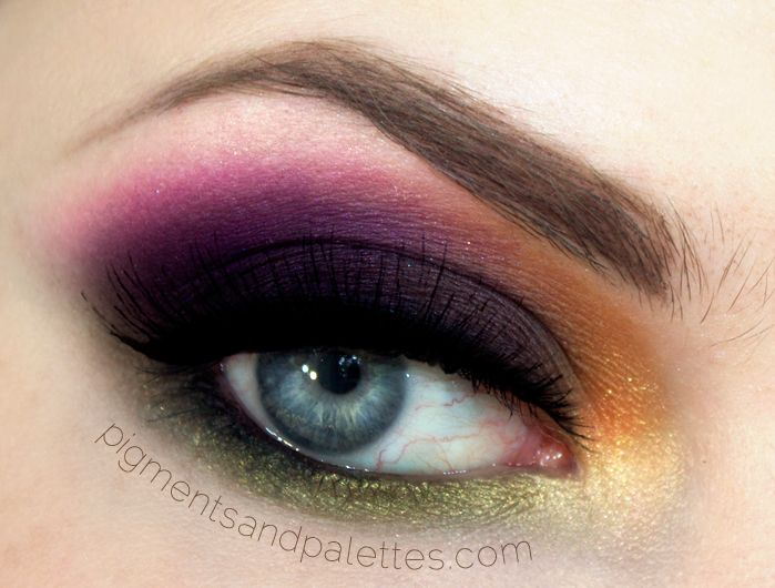 Take a look at this great autumn transitional make-up tutorial.