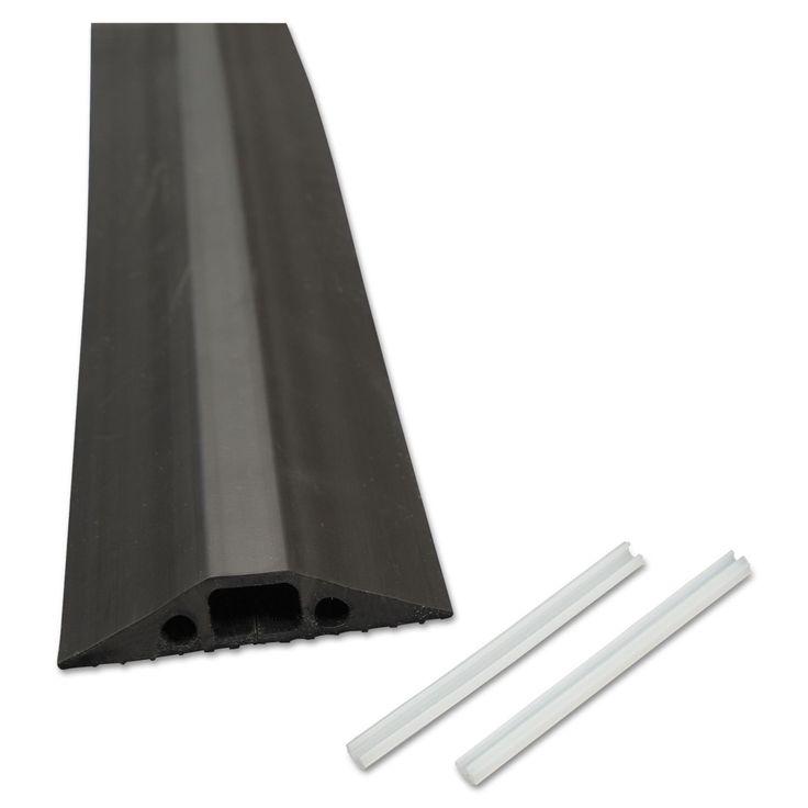D-Line Medium-Duty Floor Cable Cover 2 3/4 x 1/2 x 6 ft #FC68B