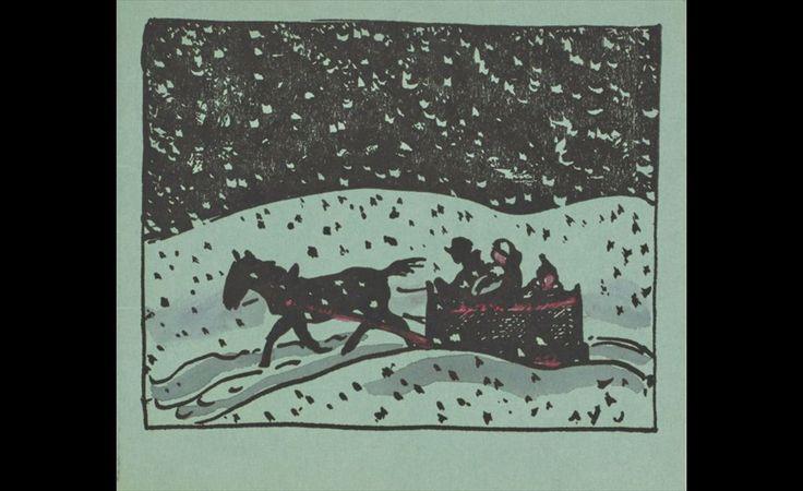 A.Y. Jackson (1882-1974), Christmas card, c.1930