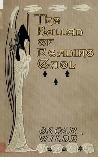 ≈ Beautiful Antique Books ≈  Art Nouveau book binding for Oscar Wilde's The Ballad of Reading Gaol