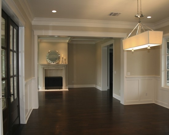 1000 images about board and batten or judges paneling for Dining room paneling ideas