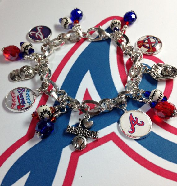 Baseball Charm Bracelet: 55 Best Sports Jewelry Images On Pinterest
