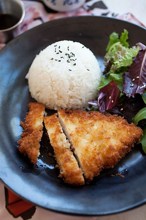 Chicken Katsu (Fried Chicken Cutlet): (Japanese fried chicken cutlet) that is sure to please. I can assure you that even the pickiest eaters, including toddlers, love a piece of crispy, light, delicious fried chicken coated with a generous layer of panko.