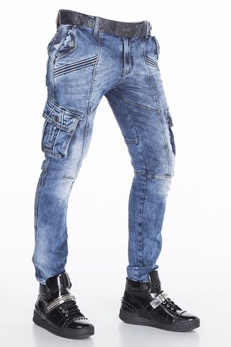 9c5c7f0be3b7 Cipo Baxx Mens Jeans CD383 BLUE in 2018   Stuff to buy   Jeans, Clothes,  Tights