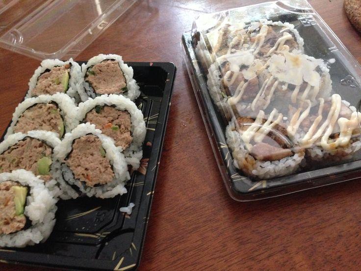 #lunch tuna&avo....love you..