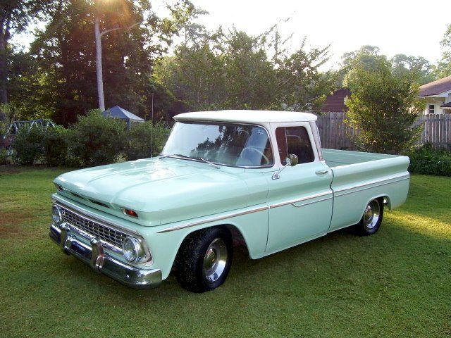 styled chevy pickup truck