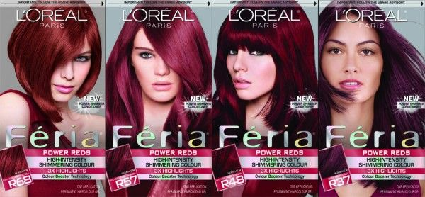 loreal purple hair dye | TREND ALERT: Seeing Red + DOs & DON'Ts From A Celeb Hair Stylist