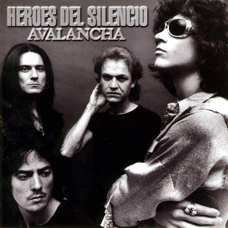 Caratula Frontal de Heroes Del Silencio - Avalancha