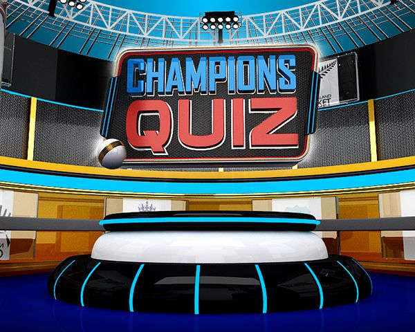 Champions Quiz Template on Behance