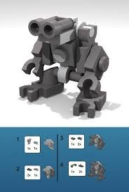 how to make a lego mini robot - Google Search                                                                                                                                                     More