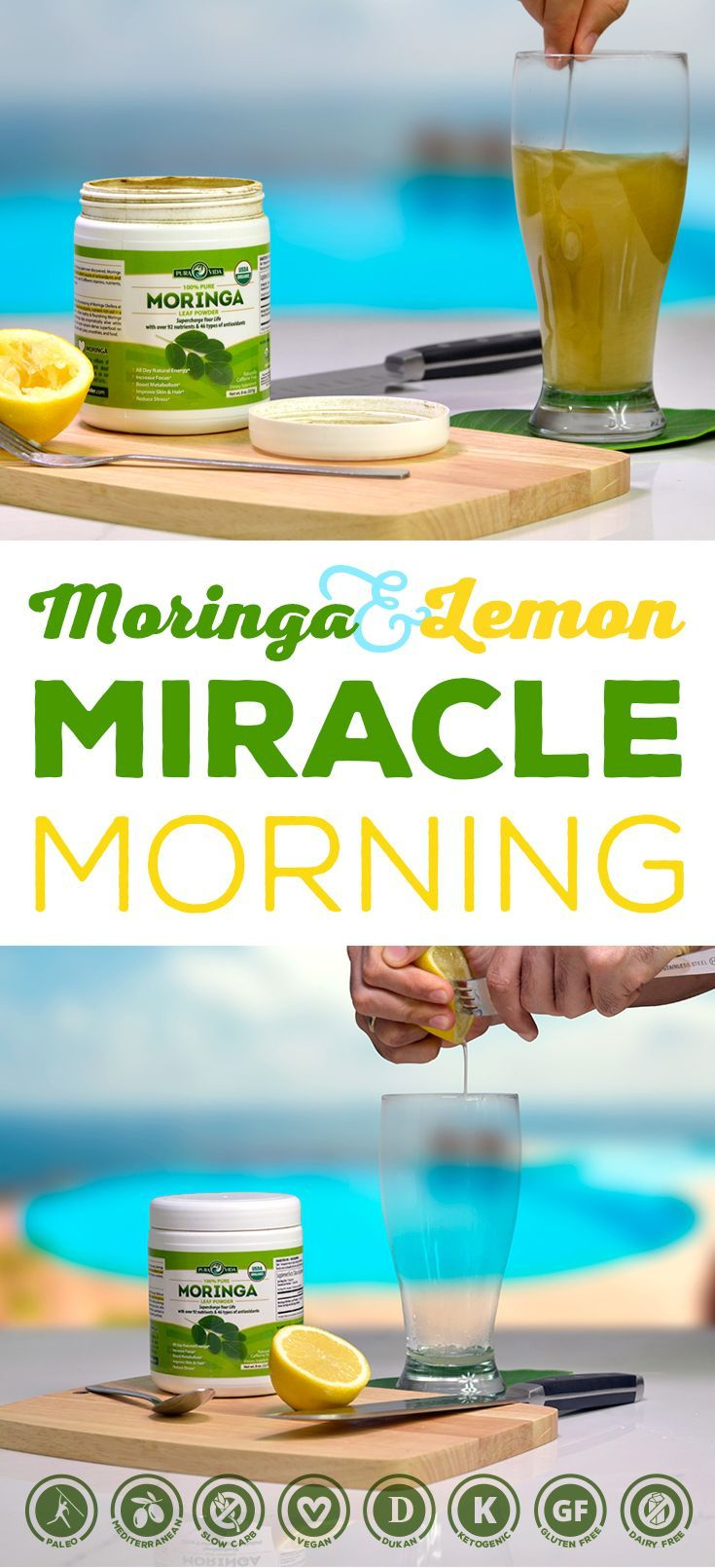 Moringa Miracle Morning Elixir to Jump Start Your Day!