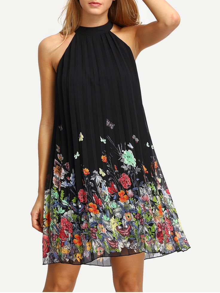 Shop Floral Print Cut Away Shift Dress online. SheIn offers Floral Print Cut Away Shift Dress & more to fit your fashionable needs.