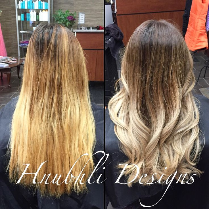 Brown To Ash Blonde Ombr 201 I Did An Ombre On Steph S Hair