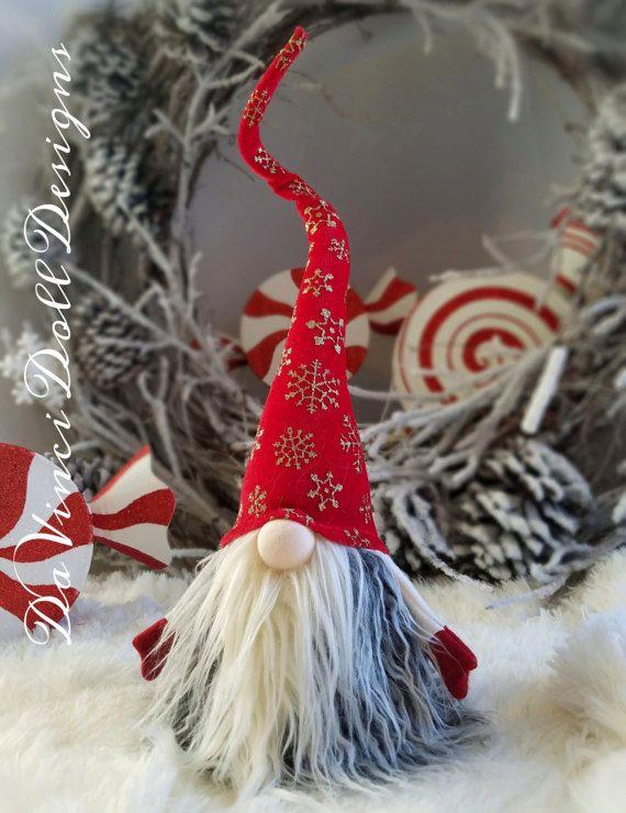 Los elfos nórdicos Gnome Tomte Nisse SANTA Navidad Elf