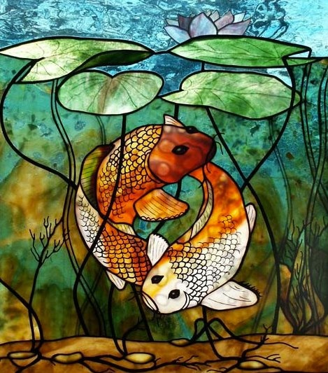 17 best images about stained glass on pinterest modern for Best glass painting designs