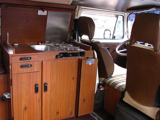 vw camper interiors | Volkswagen Westfalia Camper interior | Flickr - Photo Sharing!