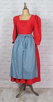vintage 80s dirndl dress trachten bavarian german country