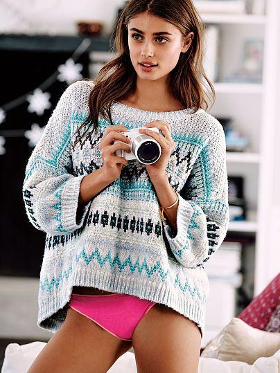 Boatneck Sweater - Cozy Sweaters - Victoria's Secret