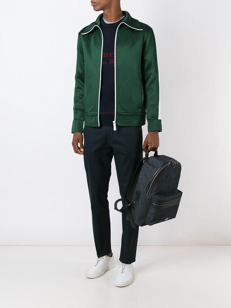 Burberry спортивная куртка на молнии