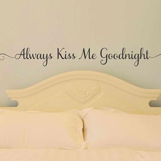31 best Always kiss me goodnight <3 images on Pinterest | Kiss ...
