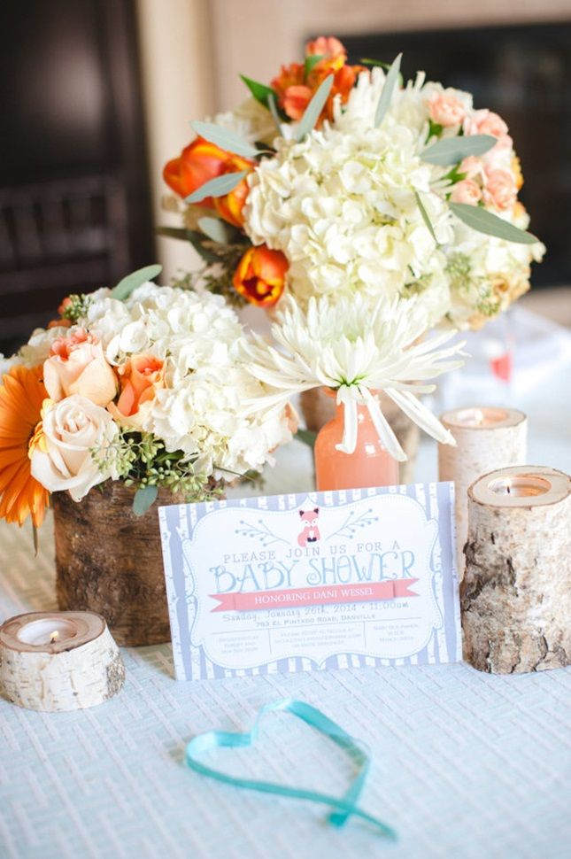 13 Creative Fall Baby Shower Ideas via Brit + Co.