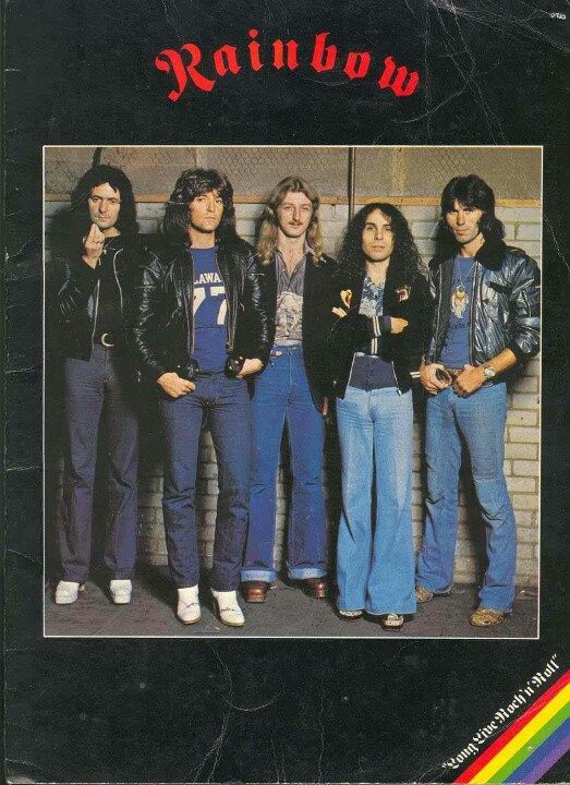 Ritchie Blackmore's Rainbow with super-vocalist Ronnie James Dio.