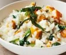 Roasted Pumpkin, Feta and Chicken Risotto | Official Thermomix Recipe Community