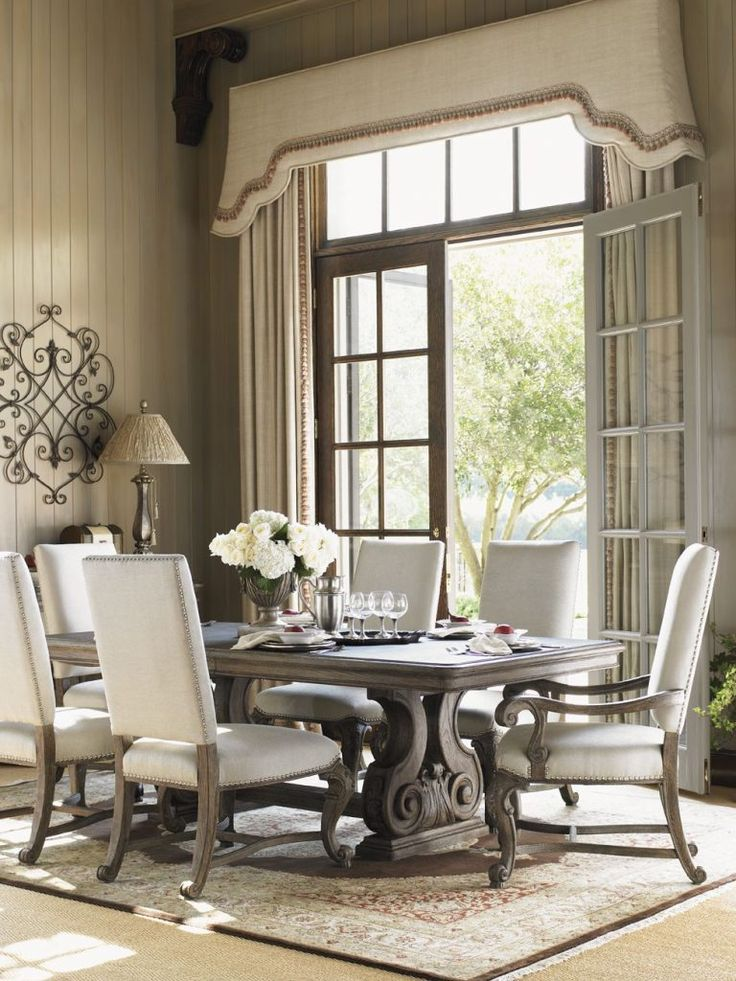In Enhancing Up A Dining Room, Selecting The Best Dining Table Set Is  Essential To. White Leather Dining ChairsWhite ...