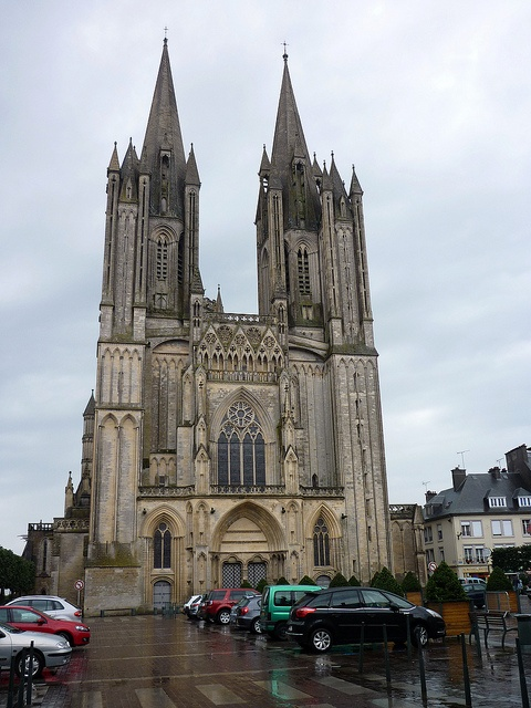 Coutances Cathedral - Normandy, France