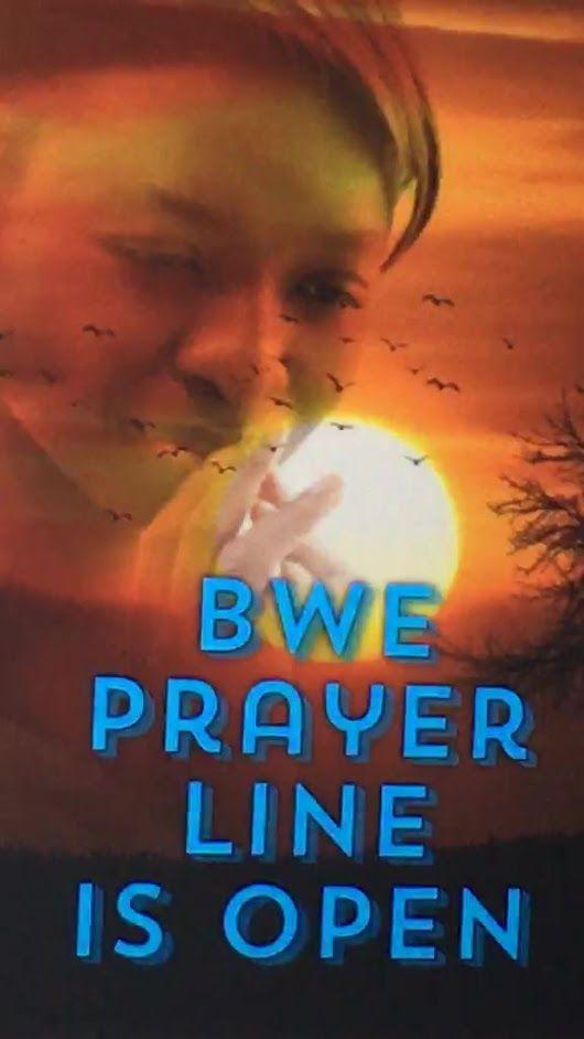 BWE Prayer Line is open on FB Live  https://www.facebook.com/blackwomenempowe...