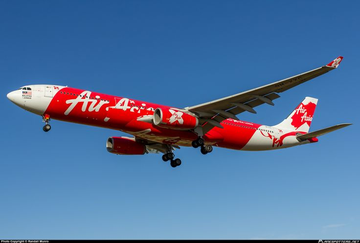 9M-XXC AirAsia X Airbus A330-343