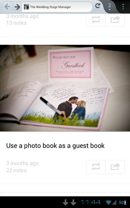 Photobook guestbook. A documentation of their relationship but also a guestbook. AgAin, something you wouldn't mind keeping around.
