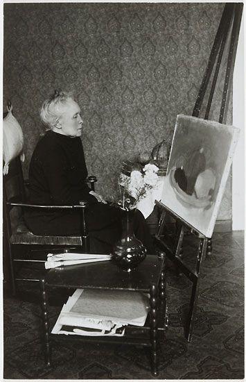 Helene Schjerfbeck (1862 – 1946, Finnish) - Photo: H. Holmström FNG/CAA, collection Gösta Stenman, 1937