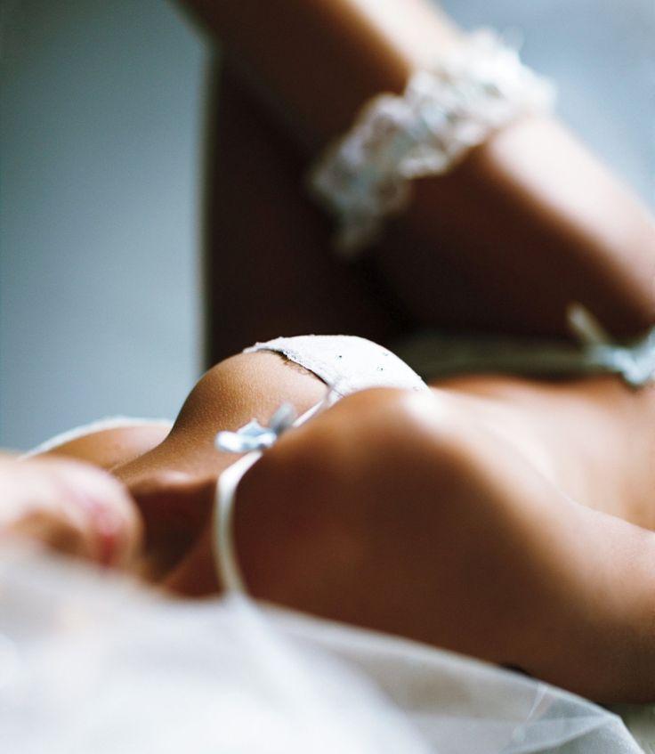 Victoria's Secret sexy little bride photoshoot