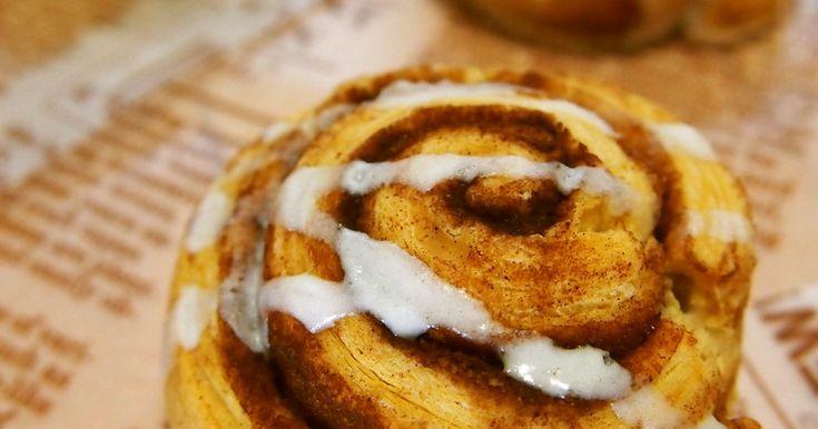 朝食にも◎HMで簡単パン♡シナモンロール by Chisora [クックパッド] 簡単おいしいみんなのレシピが258万品