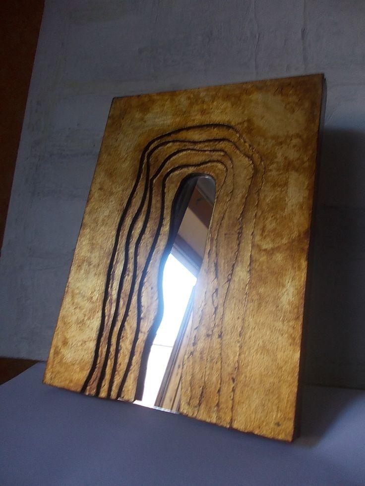 porte o pareti artistiche a foglia d'oro e gommalacca