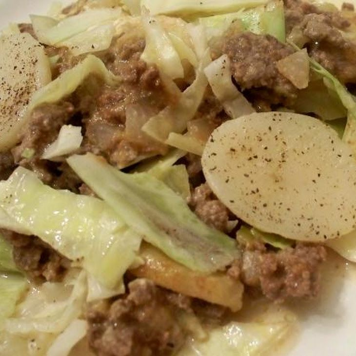 Amish Cabbage Casserole-Made this for dinner tonight...yum yum!!!!
