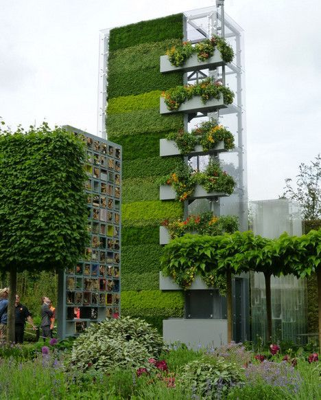 Garden Wall Facade : Best green wall facade images on pinterest