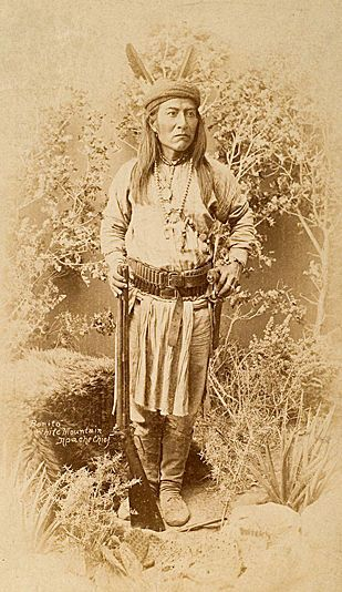 "Bonito, Chiricahua Apache War Chief.  Bonito was in the goup led by Chatto and involved in what was later called the ""McComas massacre"". Bonito settled on the San Carlos Reservation. Read more: http://www.aaanativearts.com/apache/apache_people.htm - http://en.wikipedia.org/wiki/Chatto_(Apache)"